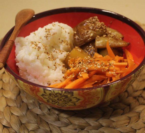 Korian bowl ,, الطبق الكوري النباتي